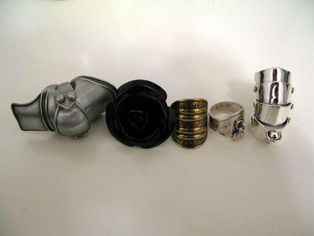 vivienne westwood armor ring. Armor ring (left): Dan#39;s